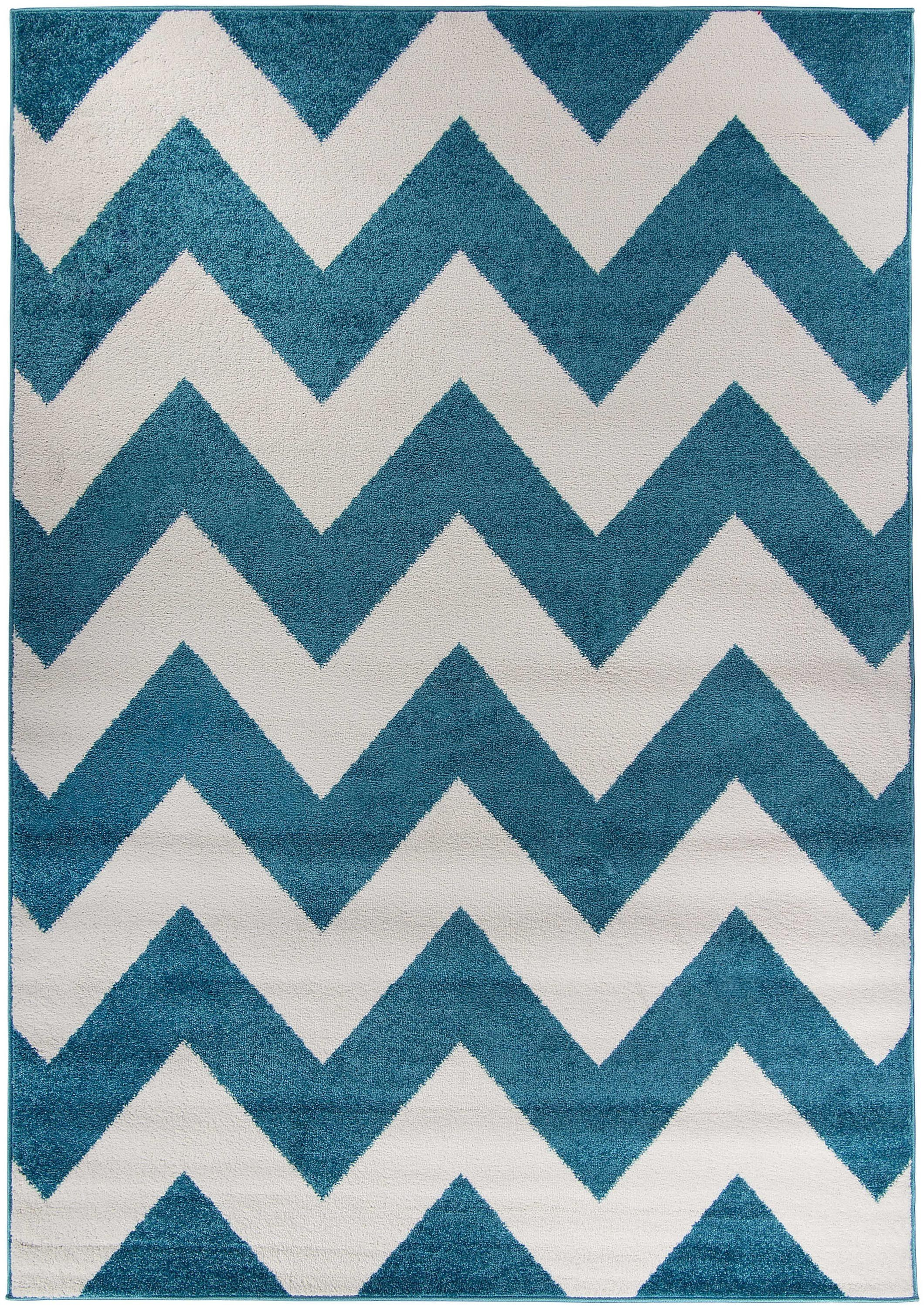Dywan Vibrant Collection Waves Blue