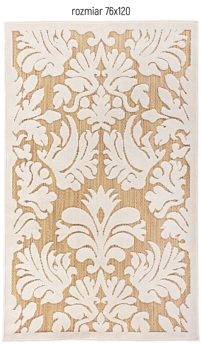 Dywan Beige Leaves Nature Collection