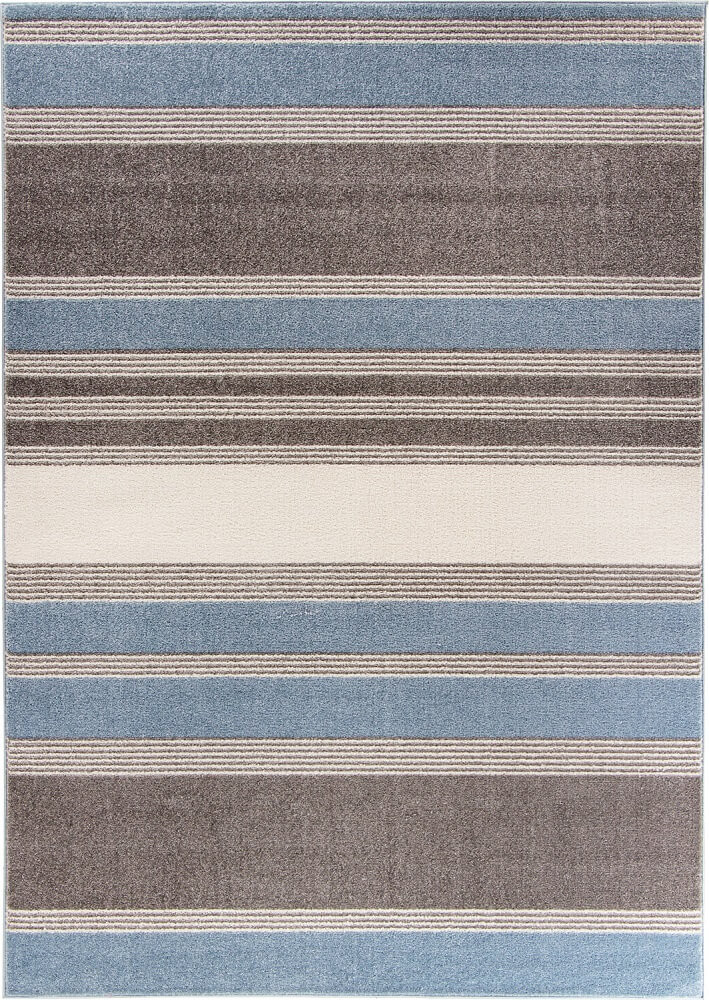 Dywan Light Collection Blue Stripes