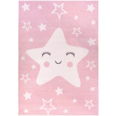 Dywan Carpetforyou Happy Star Pink